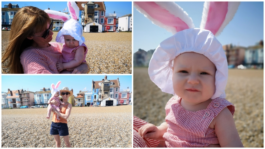 21st April: A beach bunny