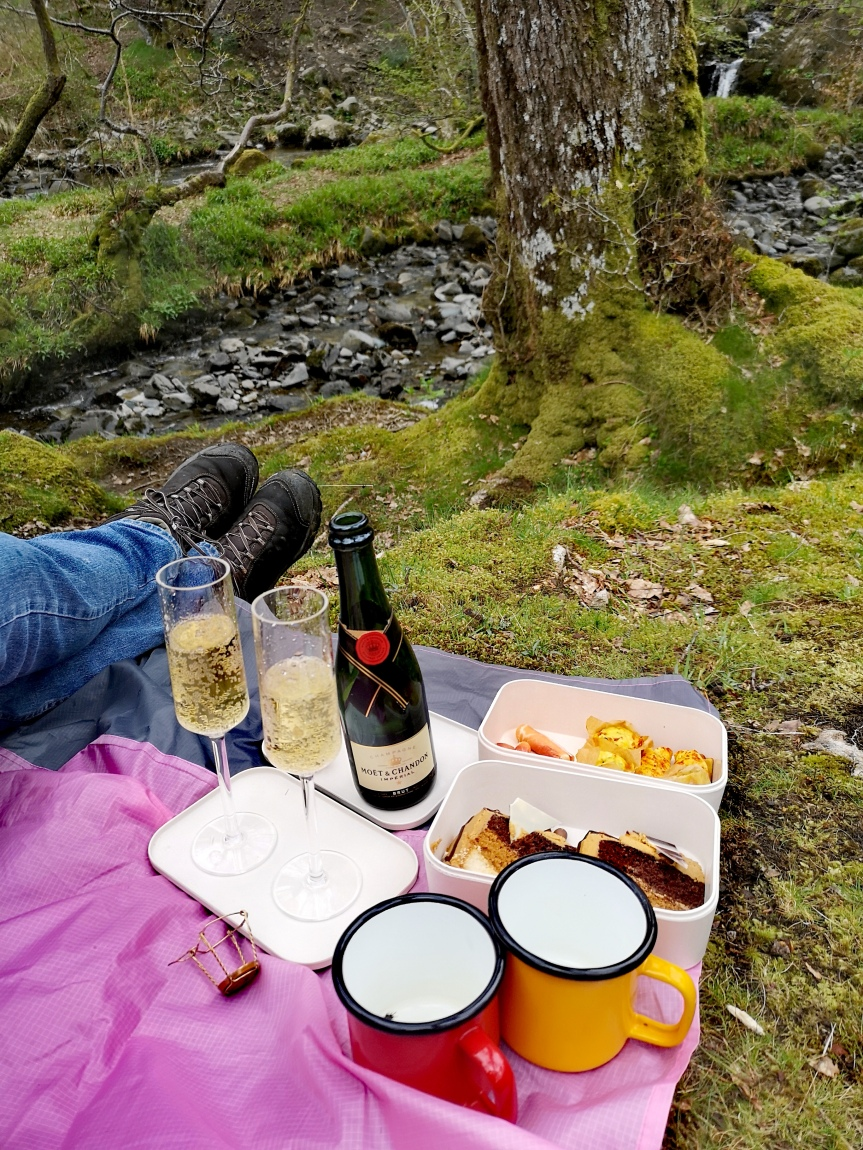 New Thing 15 : A fancy waterfallpicnic
